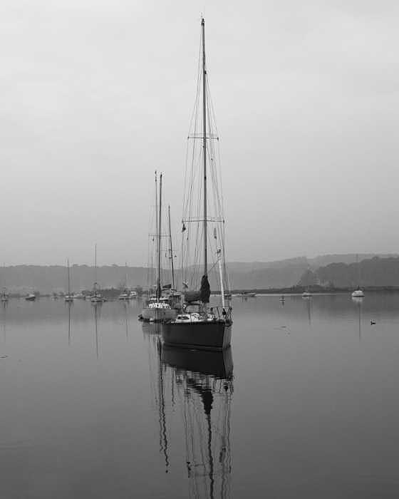 Boat Photograph - Sleeping Yacht by Arthur Sa