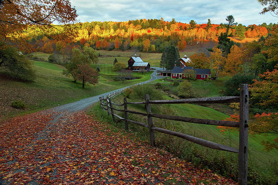 Sleepy Hollow Farm- Pomfret VT by John Vose