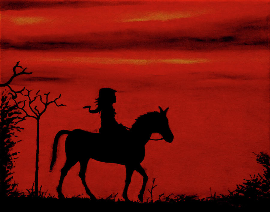 Sunset Painting - Sleepy Hollow by Robert Marquiss