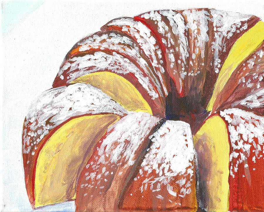 Sliced Bundt Cake by Paul Thompson