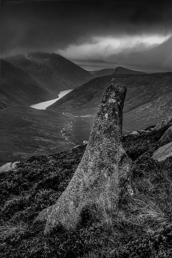 Landscapes Photograph -  Slievenaglogh to Ben Crom. by Glen Sumner
