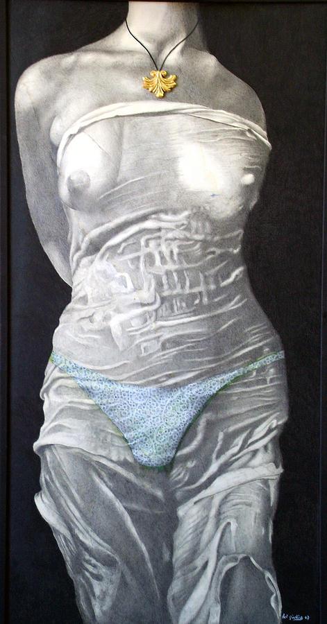 Slip Di Pizzo Painting by Amedeo Del Giudice