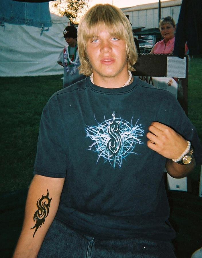Henna Tattoos Painting - Slipknot Design by Henna Tattoos Ogden Utah