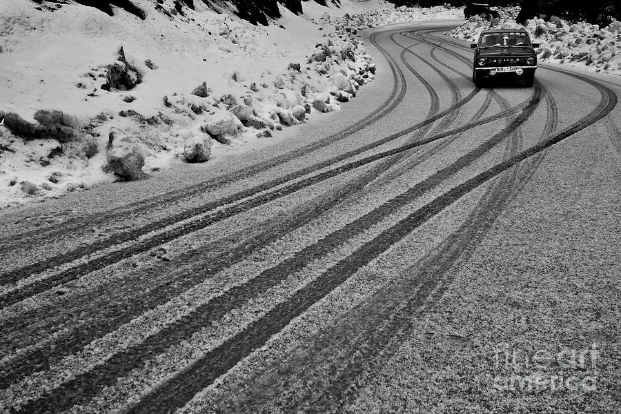 Black And White Photograph - Hello Winters by Awais Yaqub