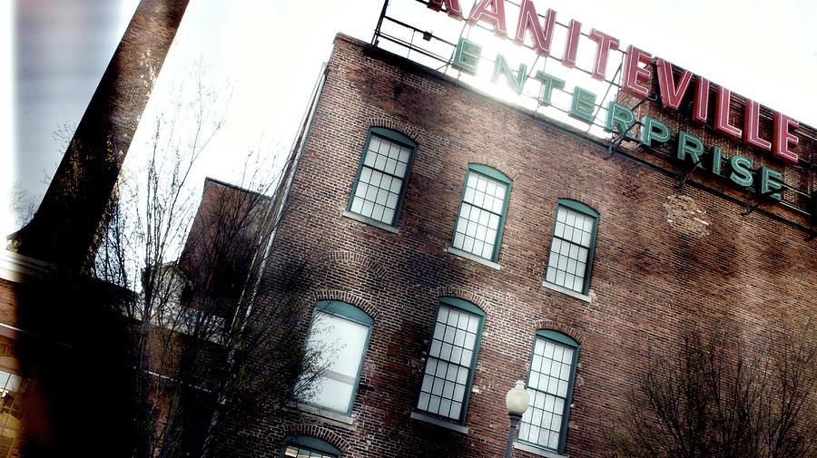 Augusta Photograph - Slit Scan 2 by Patrick Biestman