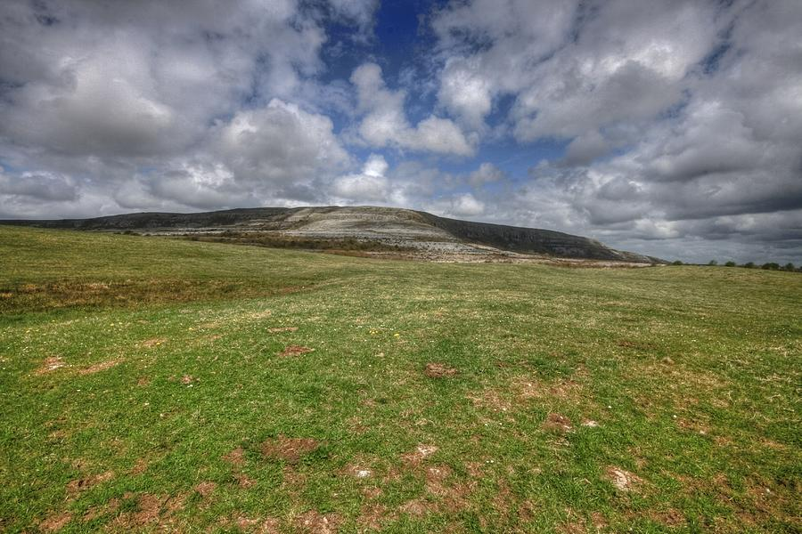 Slieve Carran Photograph - Slive Carran Mountain by John Quinn