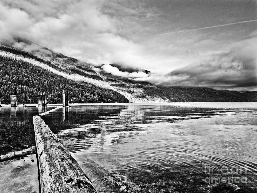 Lake Photograph - Slocan Lake Bc by Emilio Lovisa