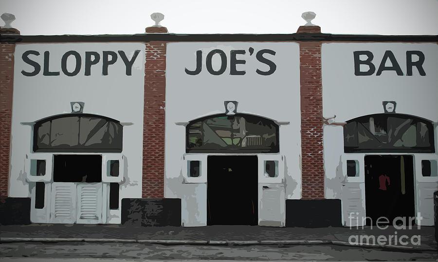 Sloppy Photograph - Sloppy Joes Bar by Jost Houk
