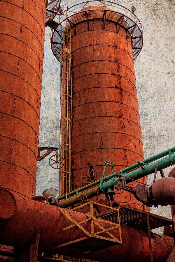 Boiler Photograph - Sloss Boiler by Phillip Burrow