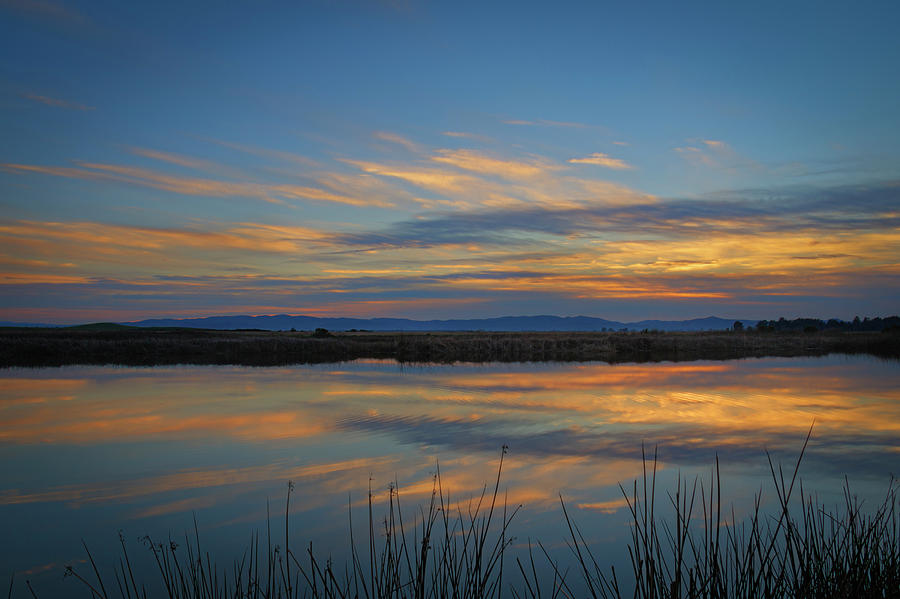 Slough Sunset by Bruce Bottomley