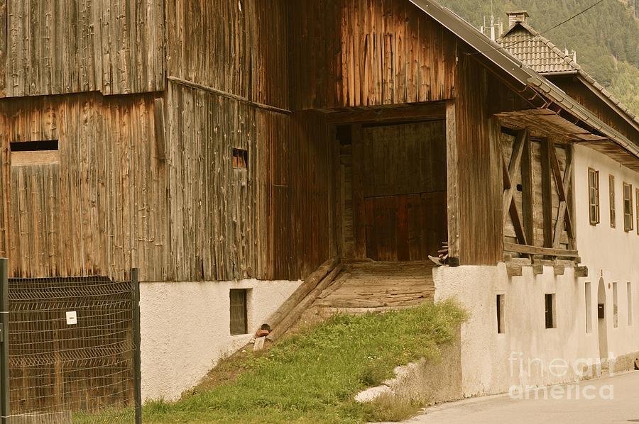 Barn Photograph - Slovenian Barn by Photos  By Zulma