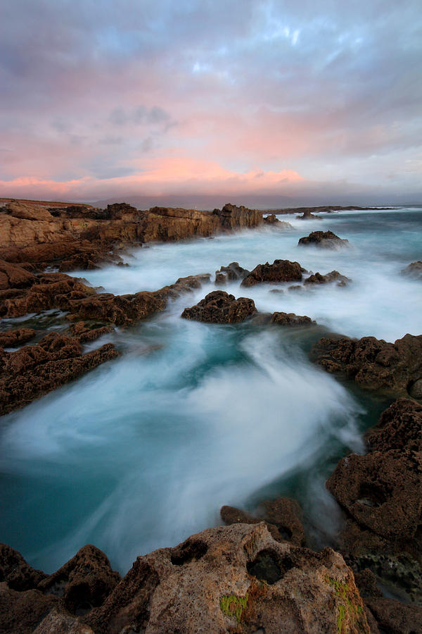 Kerry Photograph - Slow Exposure Kerry Sunset Ireland by Pierre Leclerc Photography