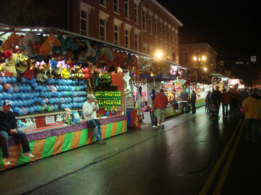 Carnival Photograph - Slow Night At The Carnival by Wayne Whitney