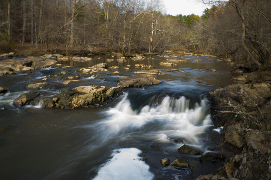 Natural Photograph - Slow Water by William Hall