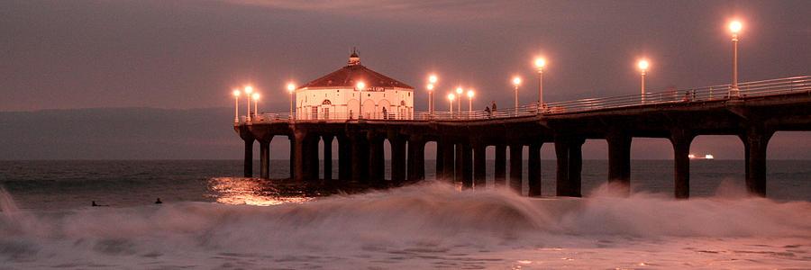 Manhattan Beach Photograph - Slow Wave by Adam Winfrey