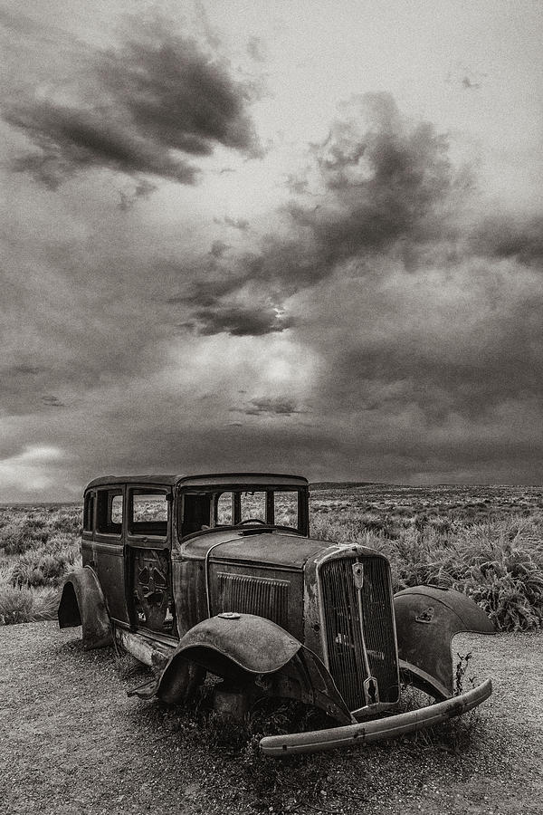 Route 66 Photograph - Slower Times by Joseph Smith