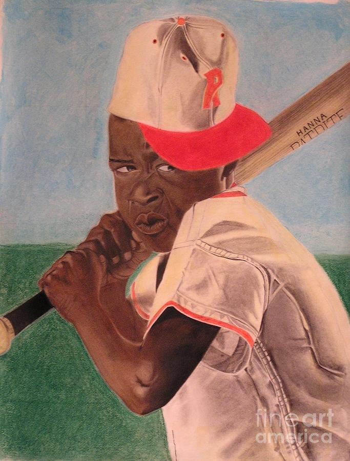 Pastel Drawings Pastel - Slugger by Wil Golden