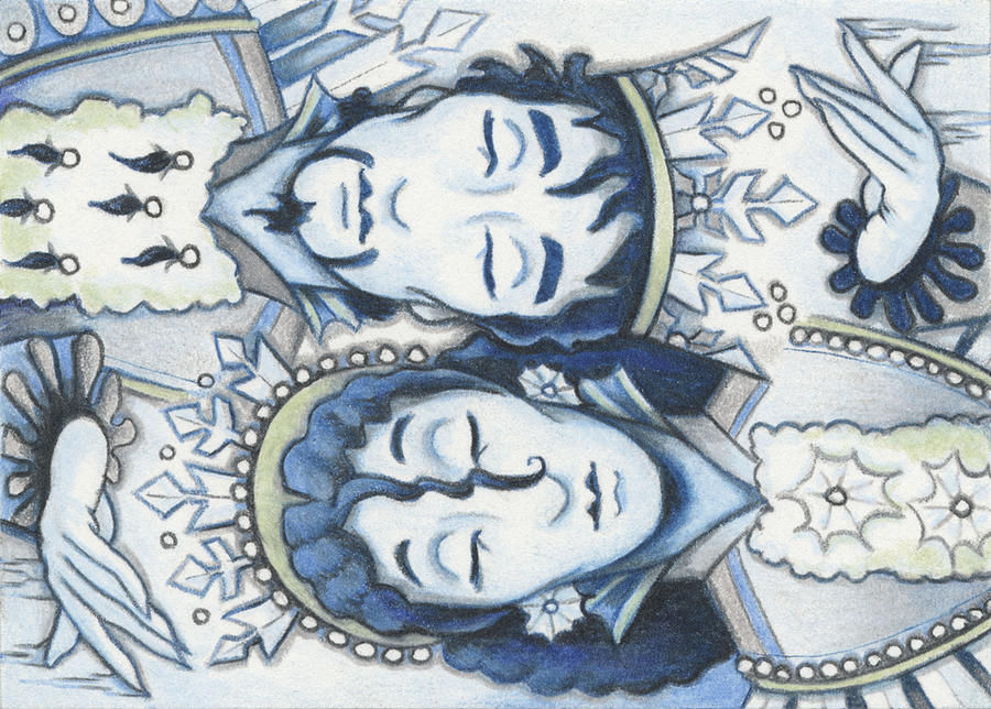 Slumber Of The Snows Drawing