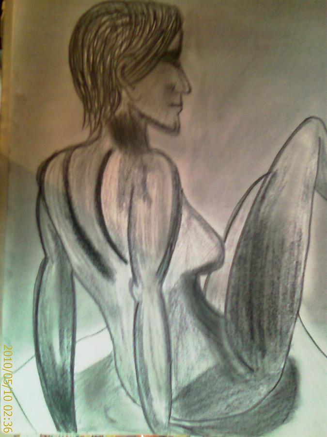 Slymph Drawing by Siddharth Negi