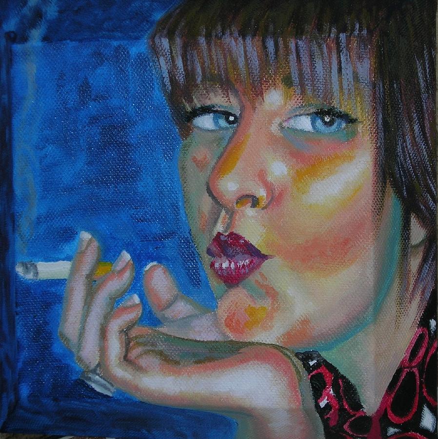 Smack Painting by Annalisa Scornavacche