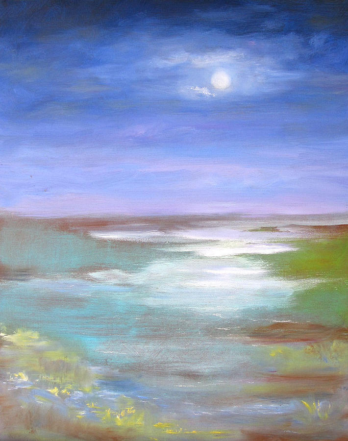 Seascape Painting - Small And Poetic by Jeannette Ulrich