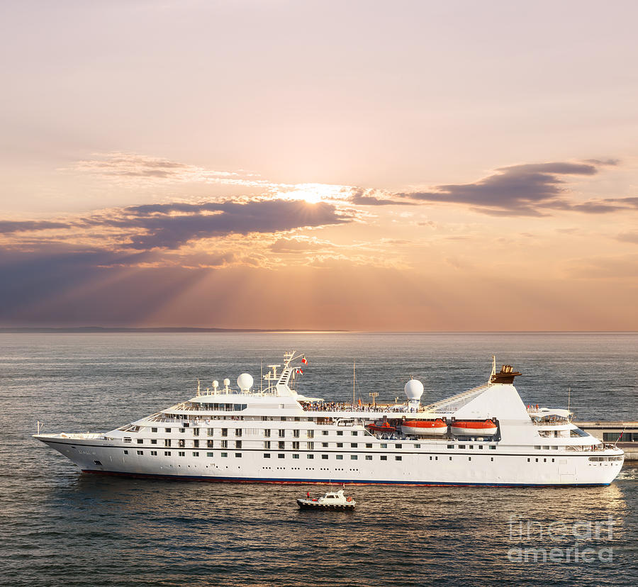 Small luxury cruise ship photograph by elena elisseeva for Luxury small cruise lines
