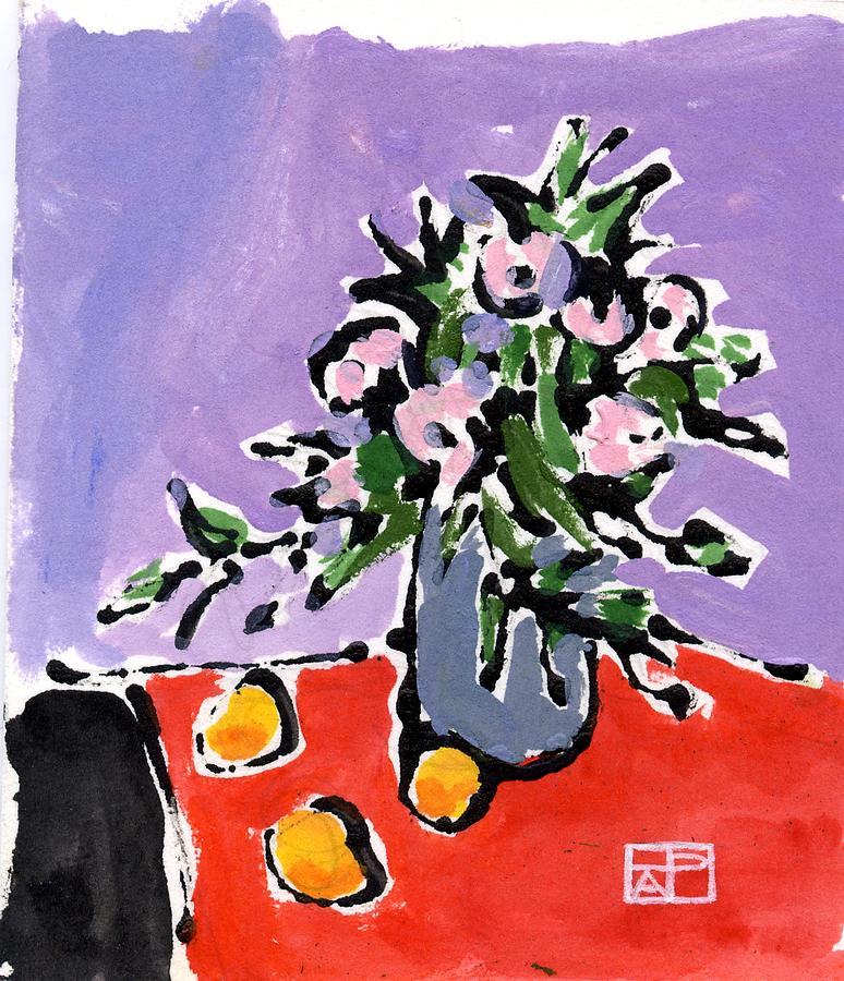 Small Still Life Painting by Helen Pisarek