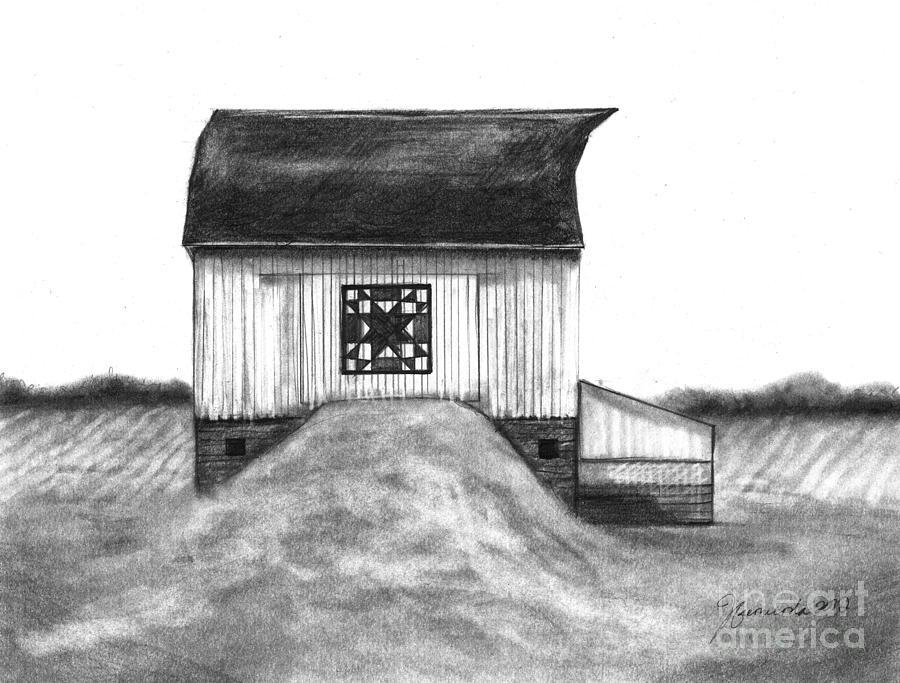 Barn Drawing - Small Things by J Ferwerda