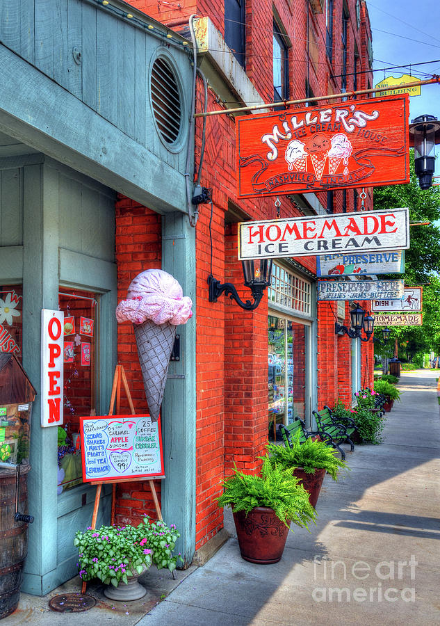 Nashville Indiana Photograph - Small Town America 2 by Mel Steinhauer