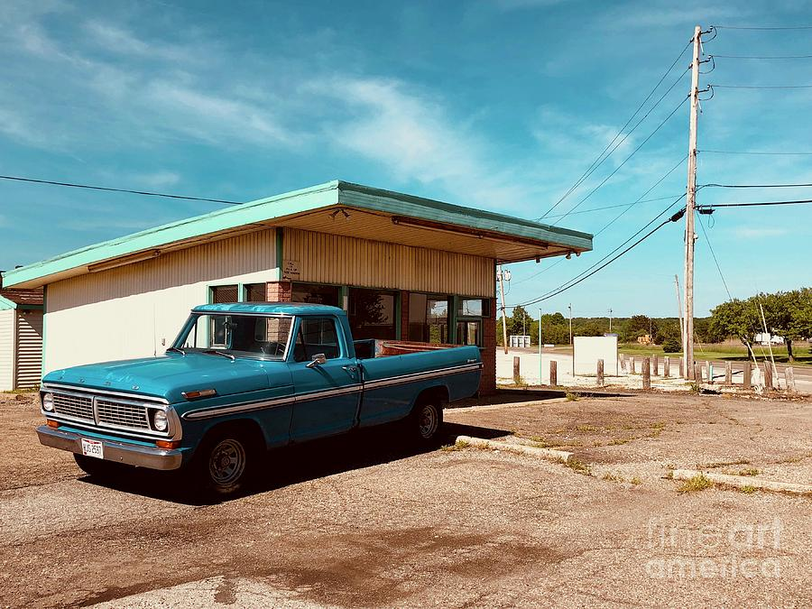 Trucks Photograph - Small Town Blues by Trish Hale