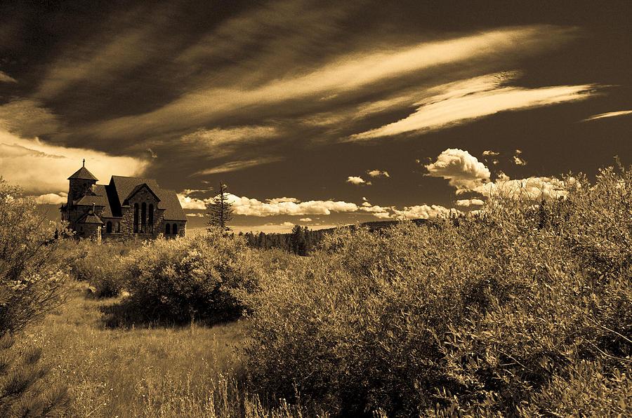 Church Photograph - Small Town Church by Marilyn Hunt