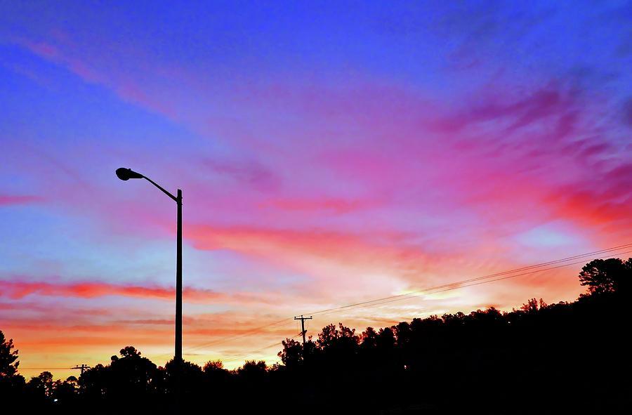 Small Town Sunrise Photograph