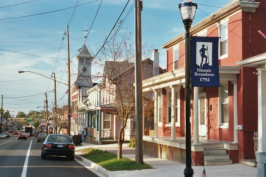 Small Town Usa Boonsboro Md Photograph By Bob Gardner