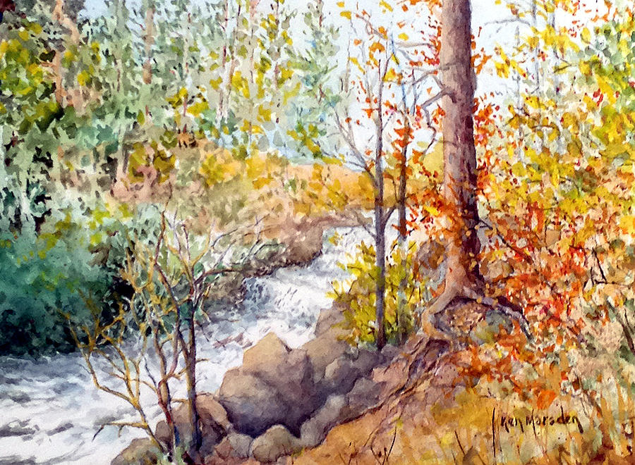 Smalley Falls by Ken Marsden