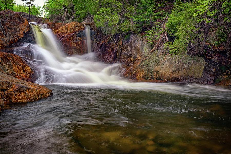 Waterfall Photograph - Smalls Falls by Rick Berk