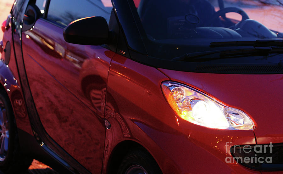 Smart Car Photograph - Smart by Linda Shafer
