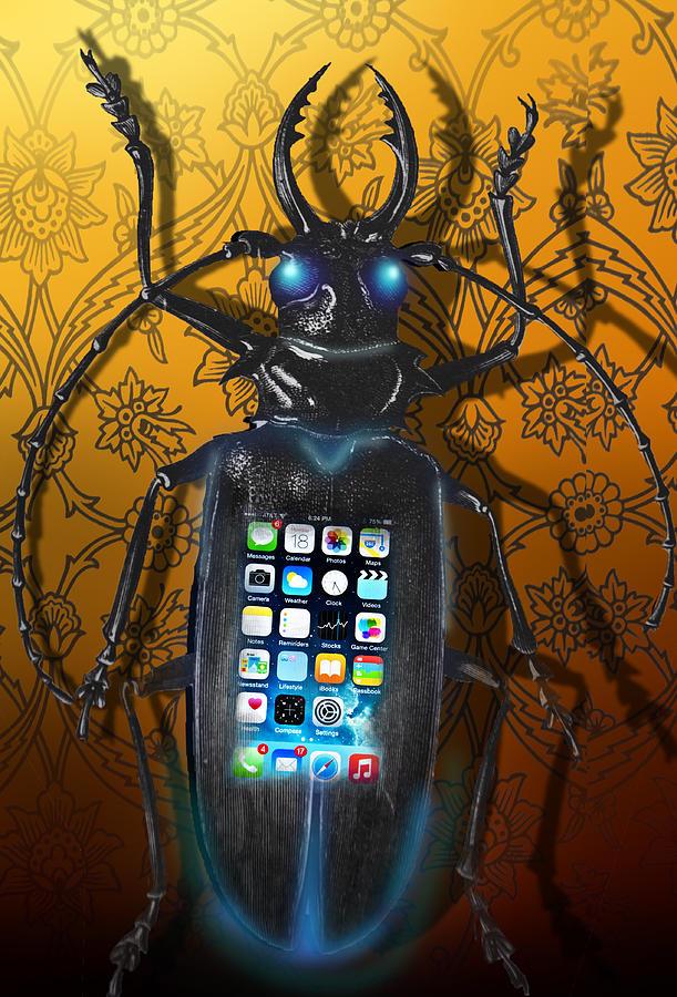Surrealism Digital Art - Smart Phone by Larry Butterworth