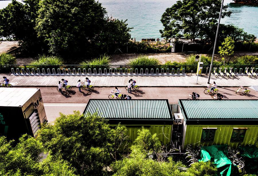 Bike Photograph - Smartbike by Kai-Ming Wong