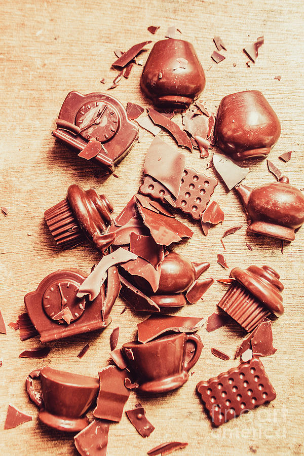 Chocolate Photograph - Smashing Chocolate Fondue Party by Jorgo Photography - Wall Art Gallery