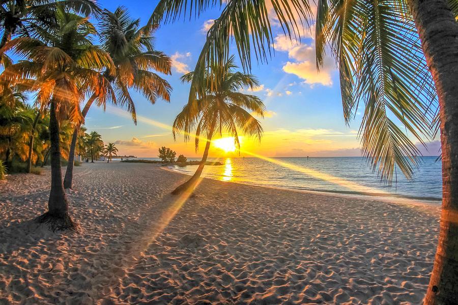 Smathers Beach Sunrise Photograph By Joey Waves