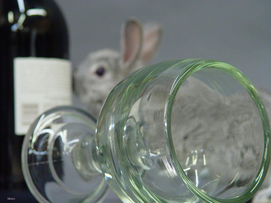 Bunny Photograph - Smelling That Vintage by Alana  Schmitt