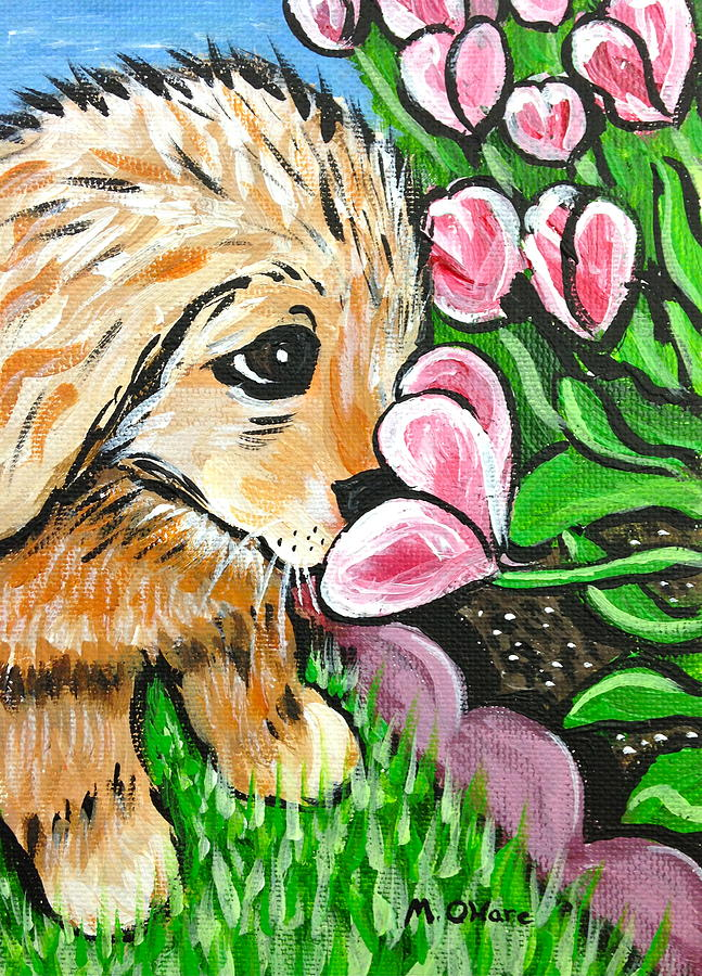 Smelling the Flowers by Meghan OHare