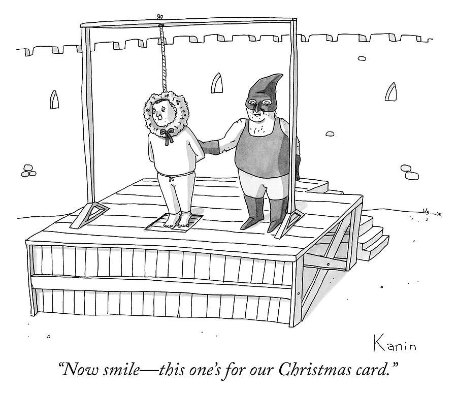 Christmas Card Drawing.Smile For Our Christmas Card