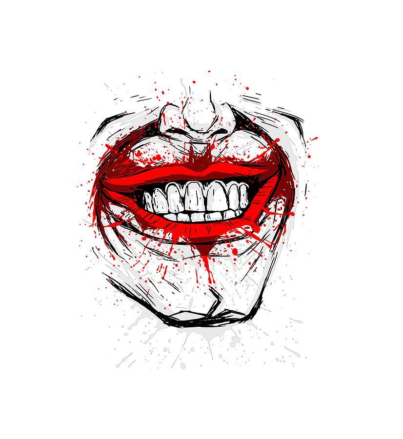 Joker Smile Digital Art By Selly Sumarlan The best gifs are on giphy. joker smile by selly sumarlan