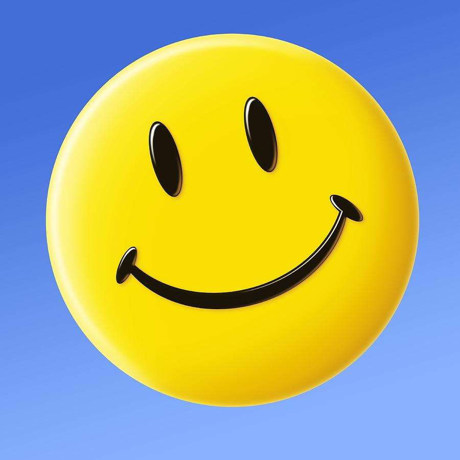 Smiley Face Symbol Photograph By Detlev Van Ravenswaay