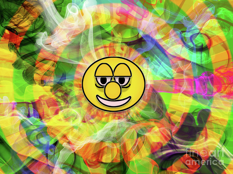 Smiley Digital Art - Smiley by Jason Whitehead