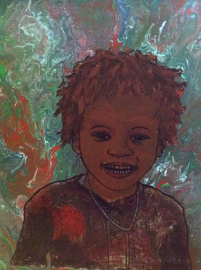 Smiling Boy  by Karen Buford