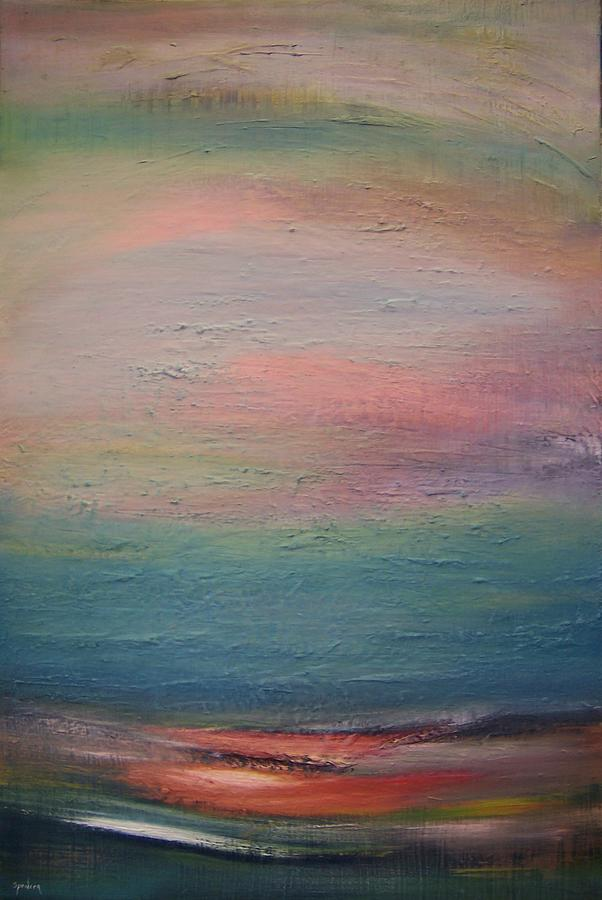Landscape Painting - Smiling Horizon by Scott Spencer