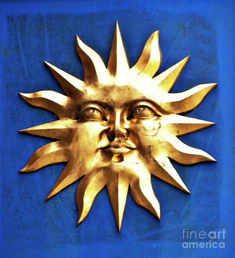 Sun Photograph - Smiling Sunshine by Meirion Matthias