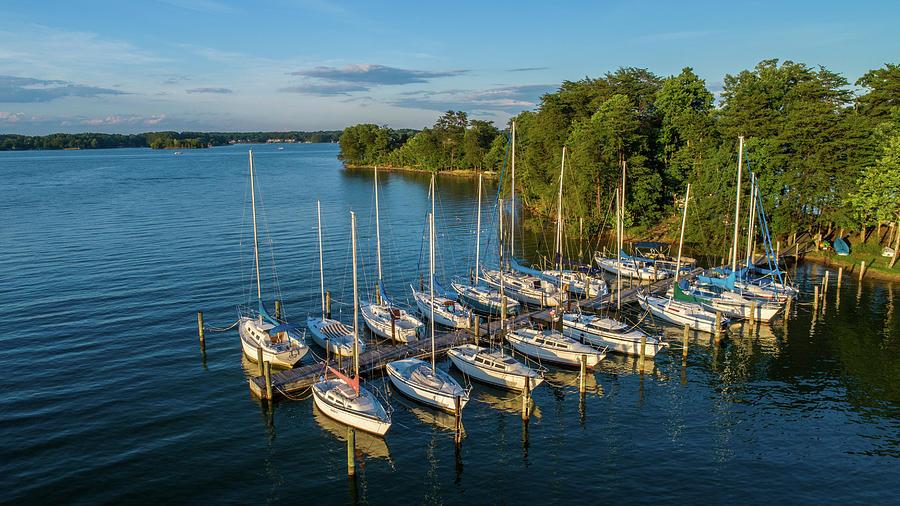Smith Mountain Lake Yacht Club by Star City SkyCams